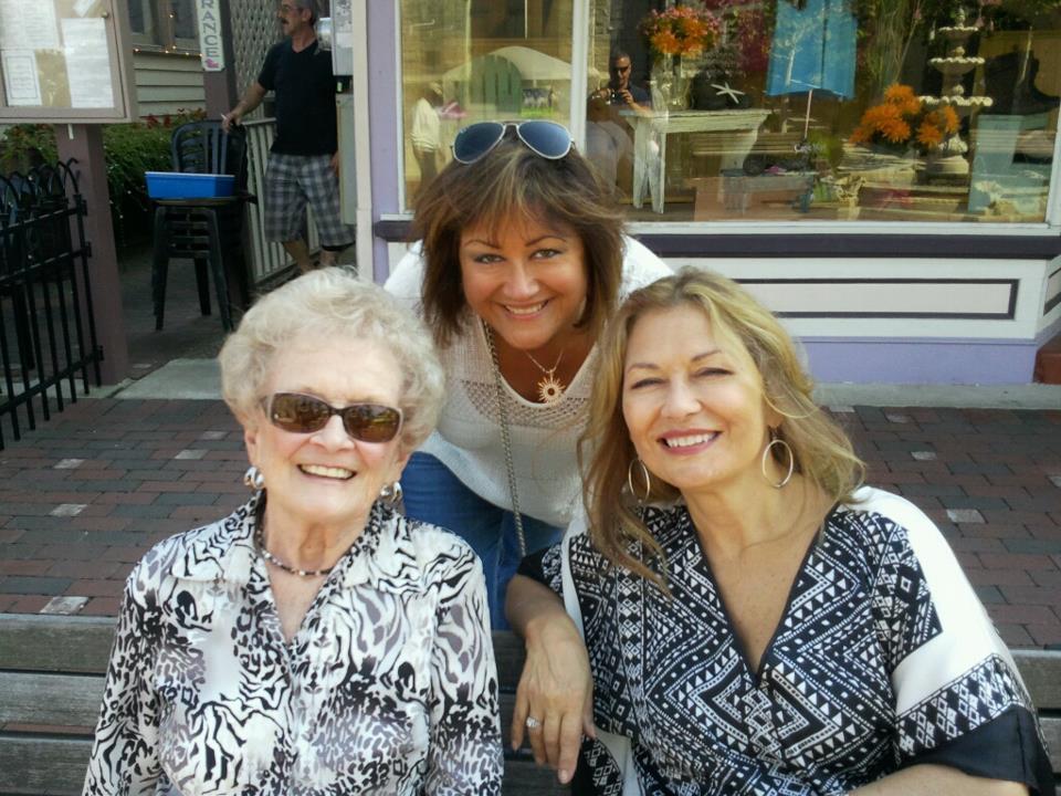 Mom Shirlee and I