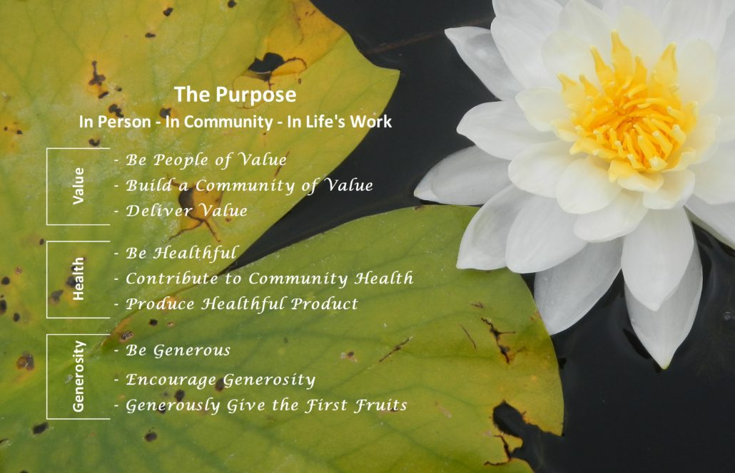 Primal Woods Our Purpose