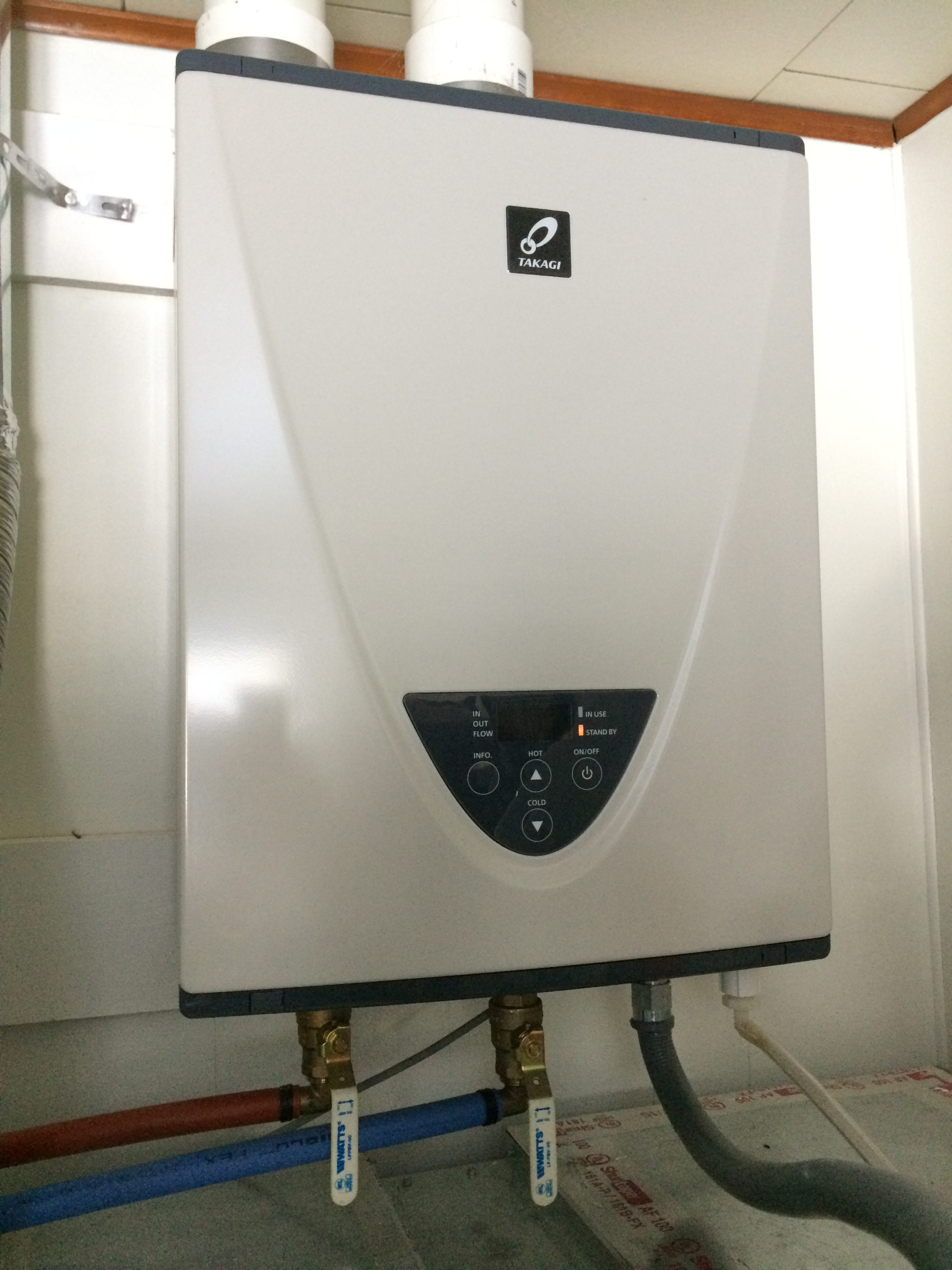 Takagi T-H3S-DV-P On Demand Tankless Water Heater