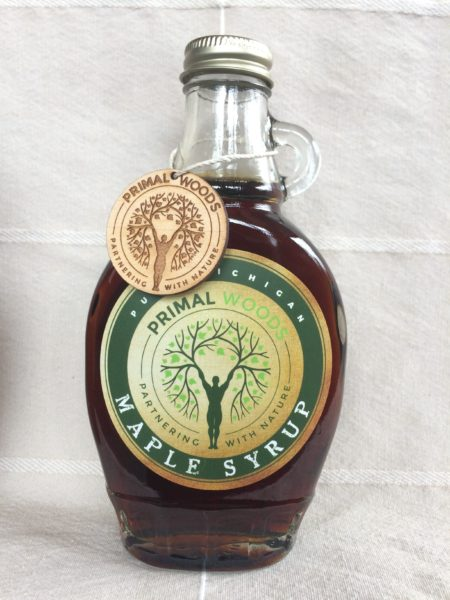 Primal Woods Pure Michigan Maple Syrup - Very Dark