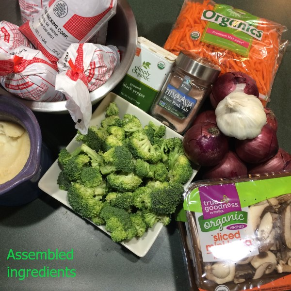 muscle building power meal