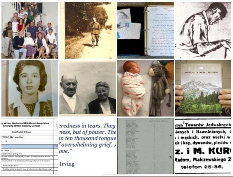 Web archive design for Georgia Hunter