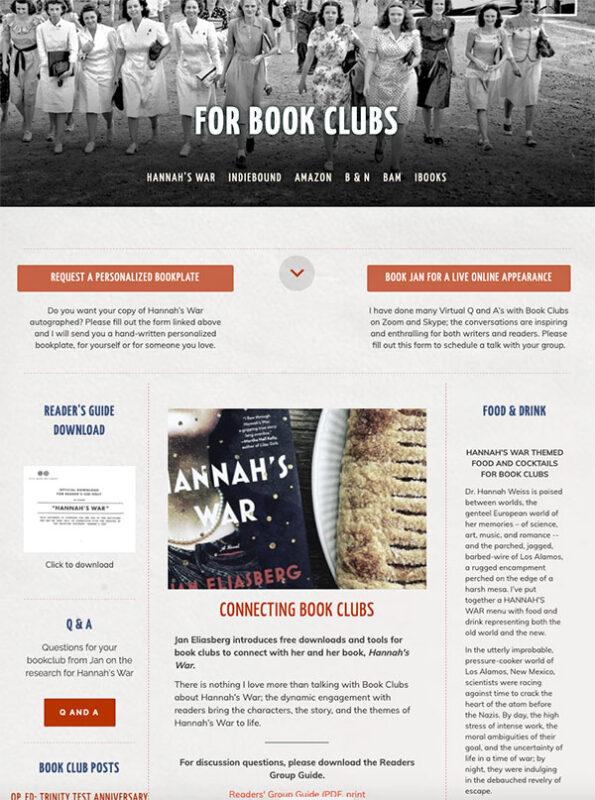 design-for-book-clubs-author-website