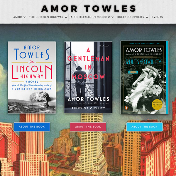 Amor Towles – The Lincoln Highway