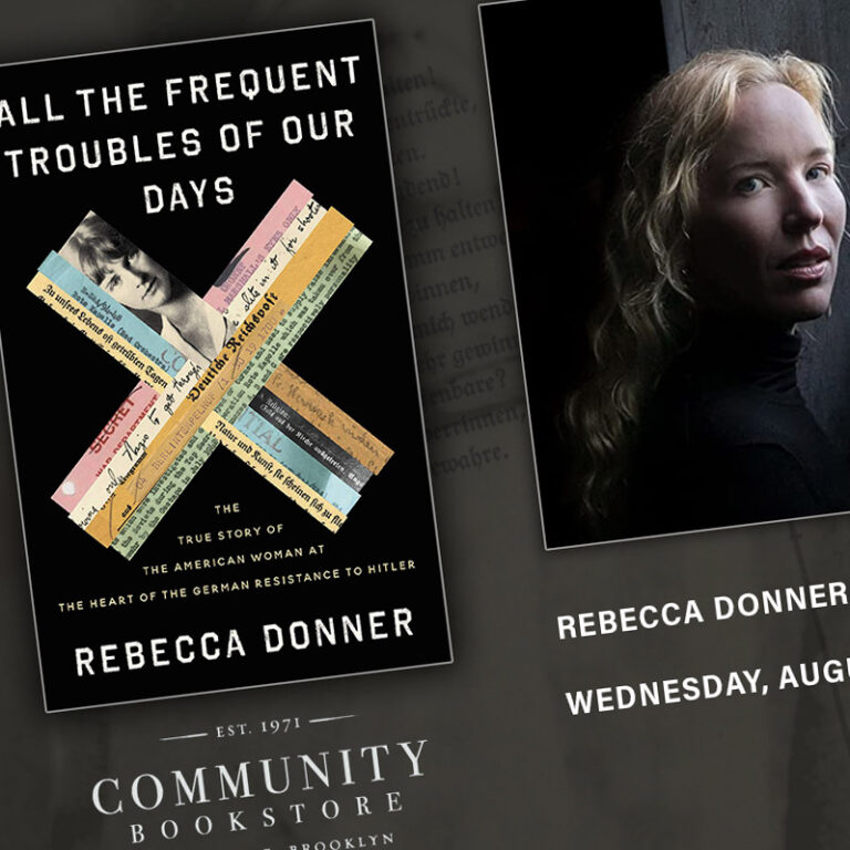 Rebecca Donner: All the Frequent Troubles of Our Days