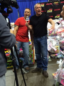 Announcers at WPLR's Annual Holiday Toy Drive