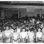 1957 Graduation Ceremony