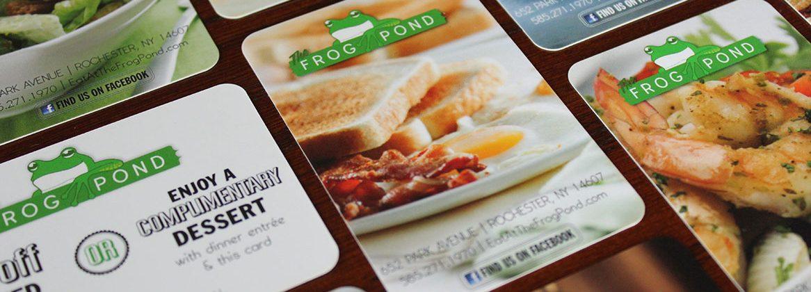 Frog Pond cards