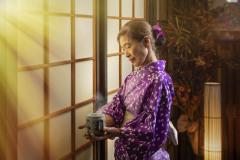Traditional Japanese attire