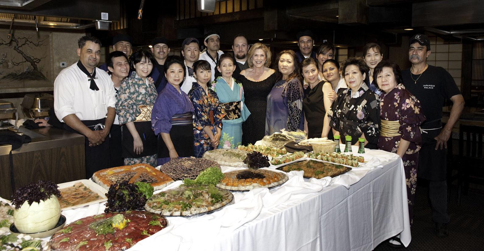 Japanese Palace Staff