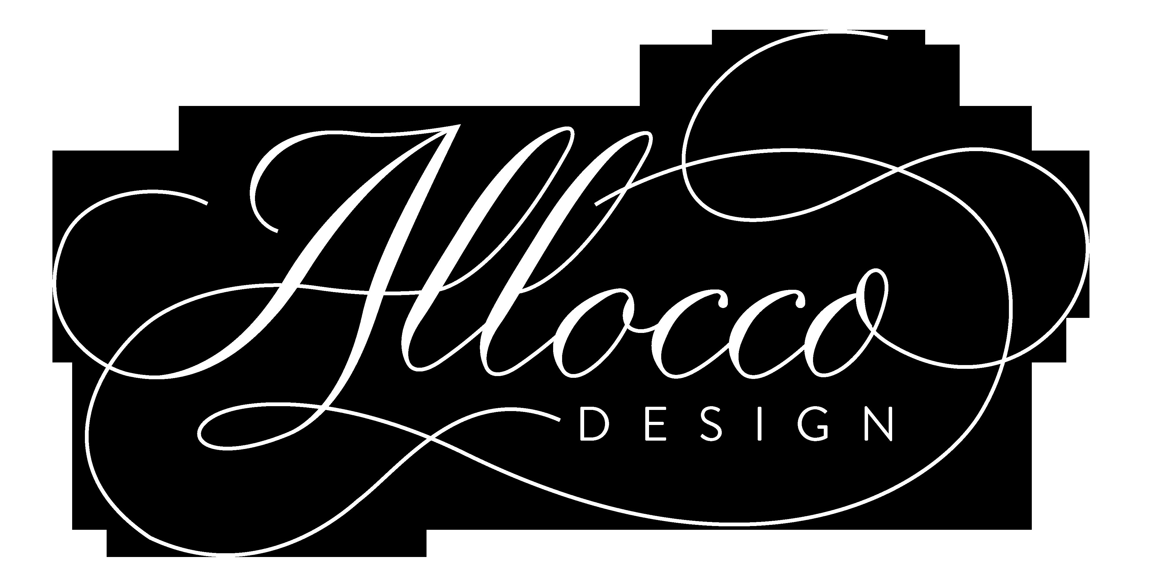 Allocco Design Logo White