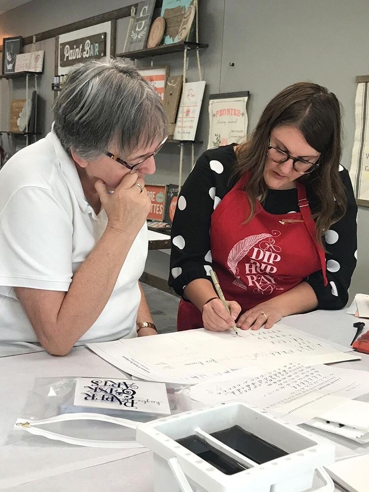 Allocco Design Norfolk Calligraphy Classes