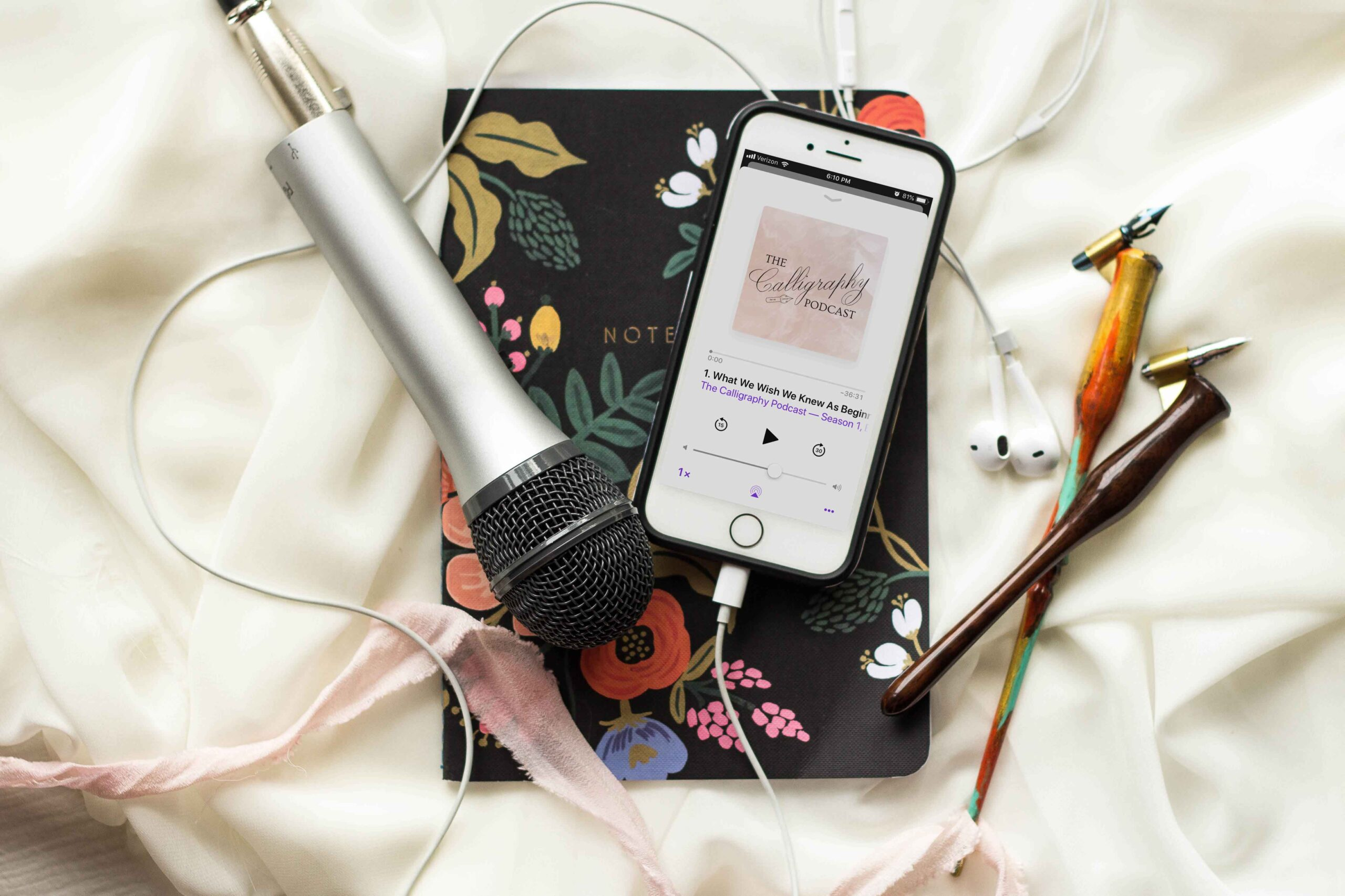 Allocco Design Norfolk, VA Calligraphy | The Calligraphy Podcast cohost
