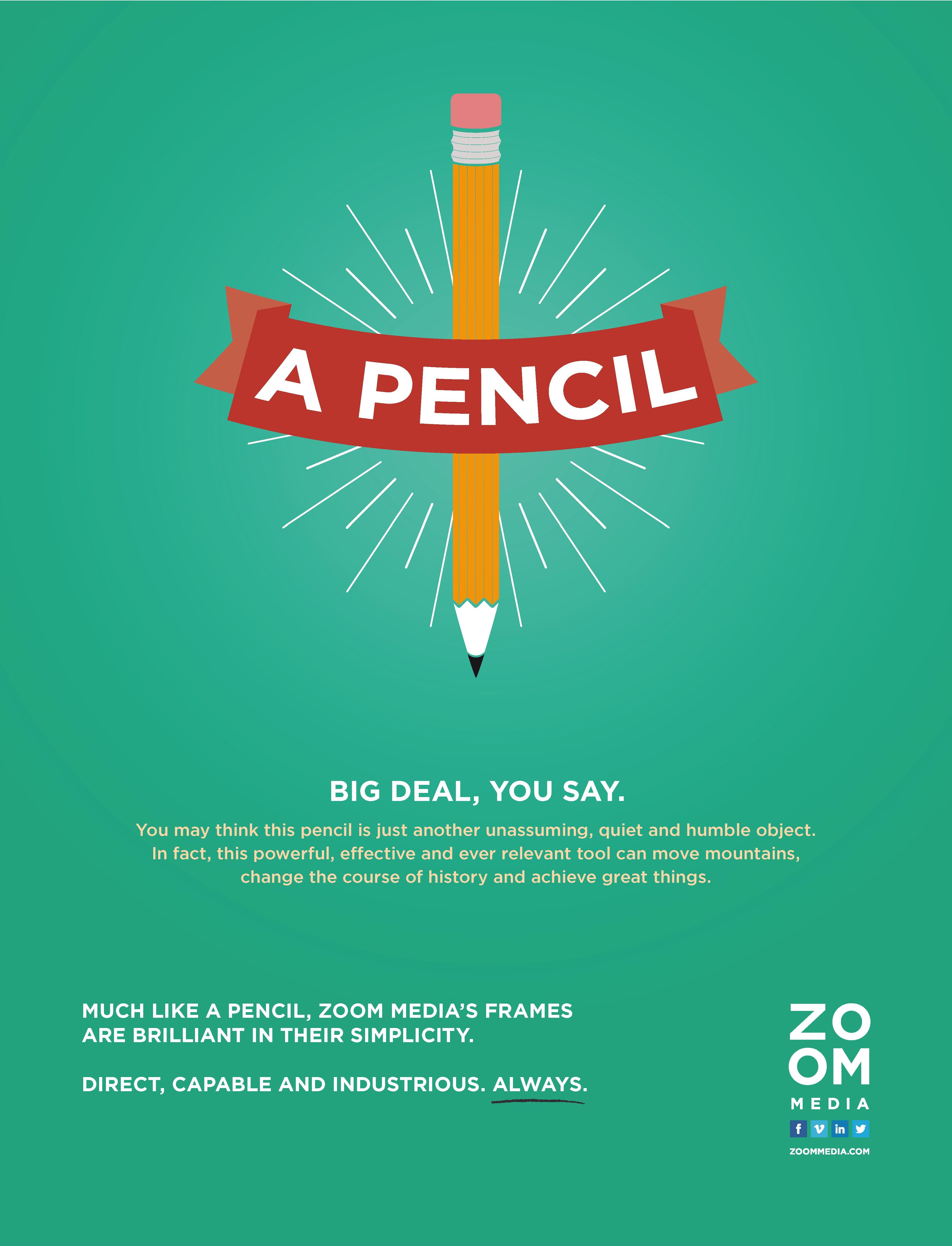 Filler Ad - Pencil