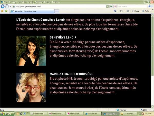 Website Team Page mock-ups