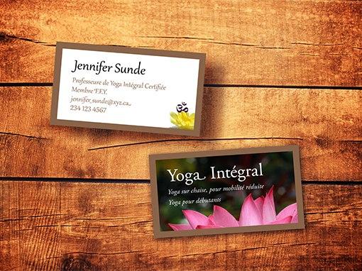 Cartes d'affaires Jennifer Sunde