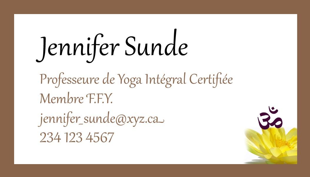 Jennifer Sunde - Verso