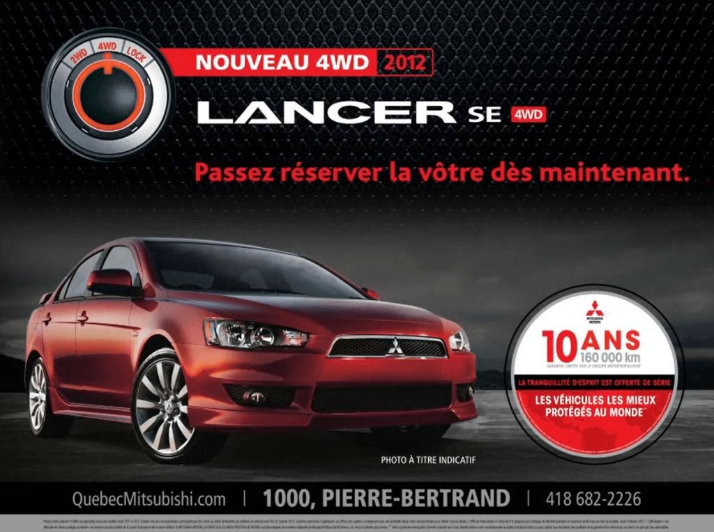 Québec Mitsubishi Dealership
