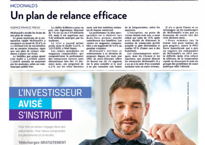 CFA Montreal dans La Presse Cahier Weekend