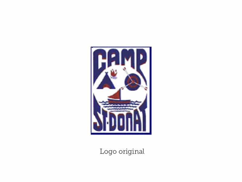 Logo Camp St-Donat original