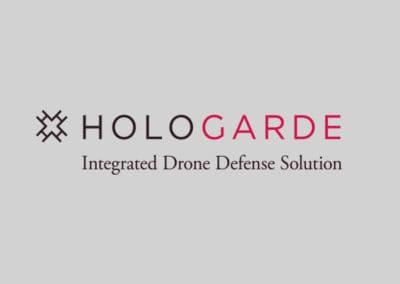 Hologarde logo on light background