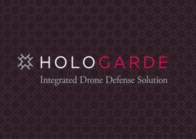 Hologarde logo on pattern