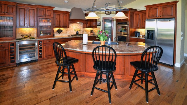 Check out the lovely kitchen we photographed in this home our brokerage sold in the Gold Hills Golf neighborhood.