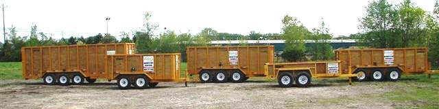 Michigan Dumpster Rental, Property Services, Rubber Wheel Dumpster