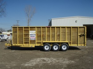 Michigan Property Services, Rubber Wheel Dumpster, Dumpster Rental
