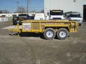 Dumpster Rental, Michigan Property Services, Rubber Wheel Dumpster