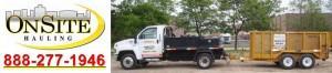Michigan Dumpster Rental, Rubber Wheel Dumpsters, Onsite Hauling Logo