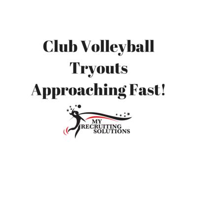 Club Volleyball TryoutsApproaching Fast!-3