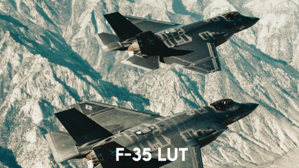 Aviator LUT Pack: F-35 LUT Example 1