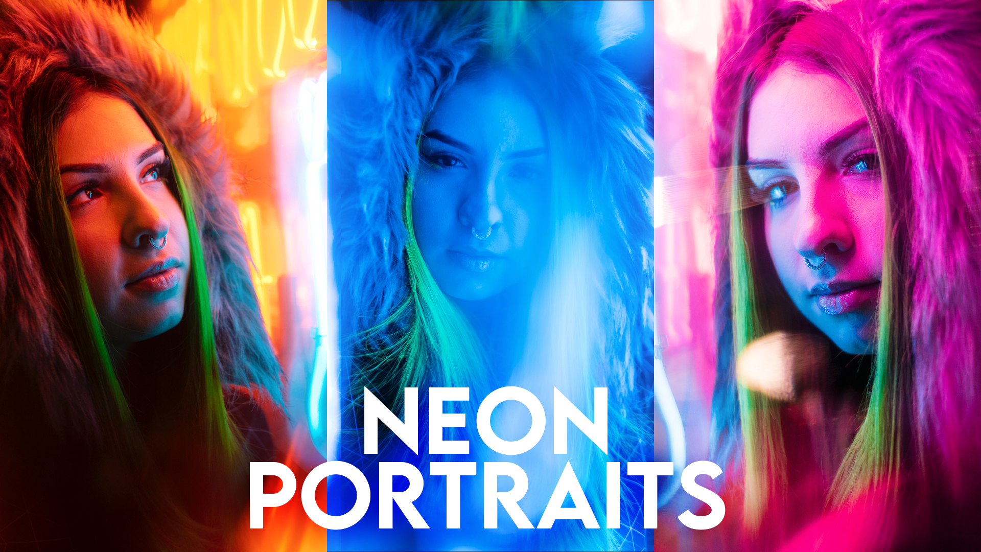 My Secrets to Neon Portrait Editing