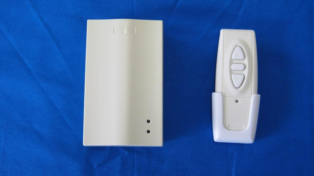 Control electric windows with hand held controller