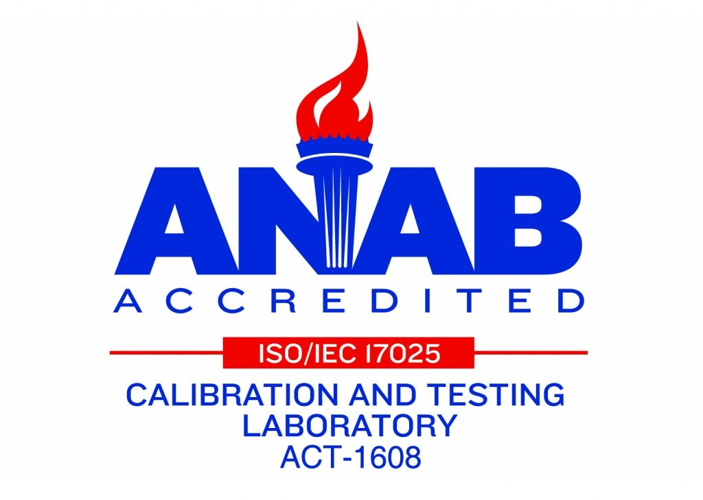 ANAB Accredited Calibration and Testing