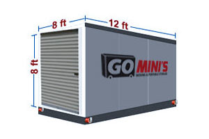 12 ft storage container