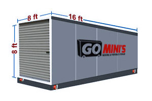 16 ft storage container