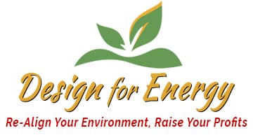 Design For Energy Logo Re Align Environment Raise Profits 1
