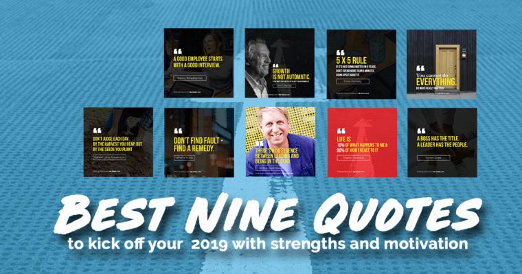 best nine quotes 2019