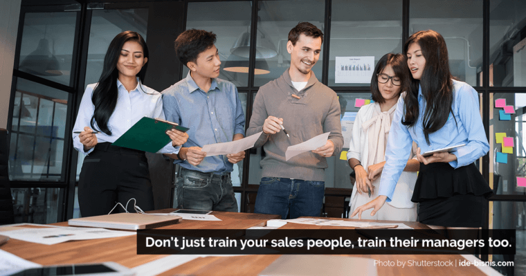 proactive sales manager