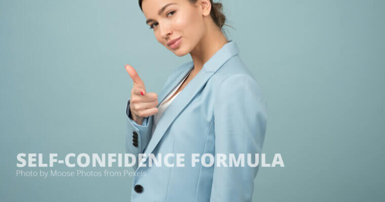 self confidence formula
