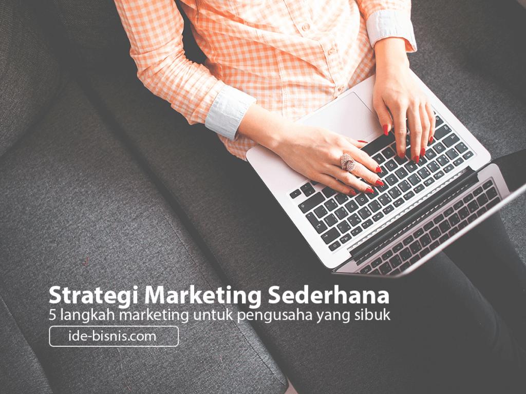 strategi marketing yang baik