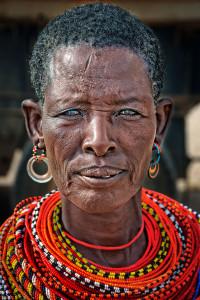 Masai-Woman-Portrait Jim Redding 25 Points JUDGES CHOICE