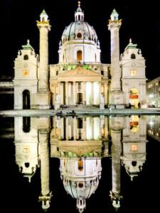 St Karls Church in Vienna Austria