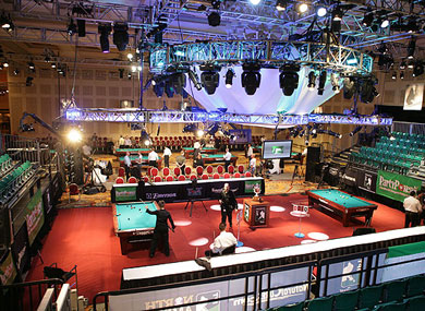 Planning a Pool Tournament coverage