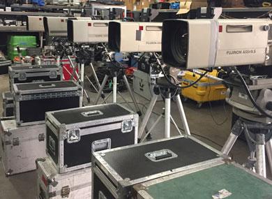 Row of Cameras