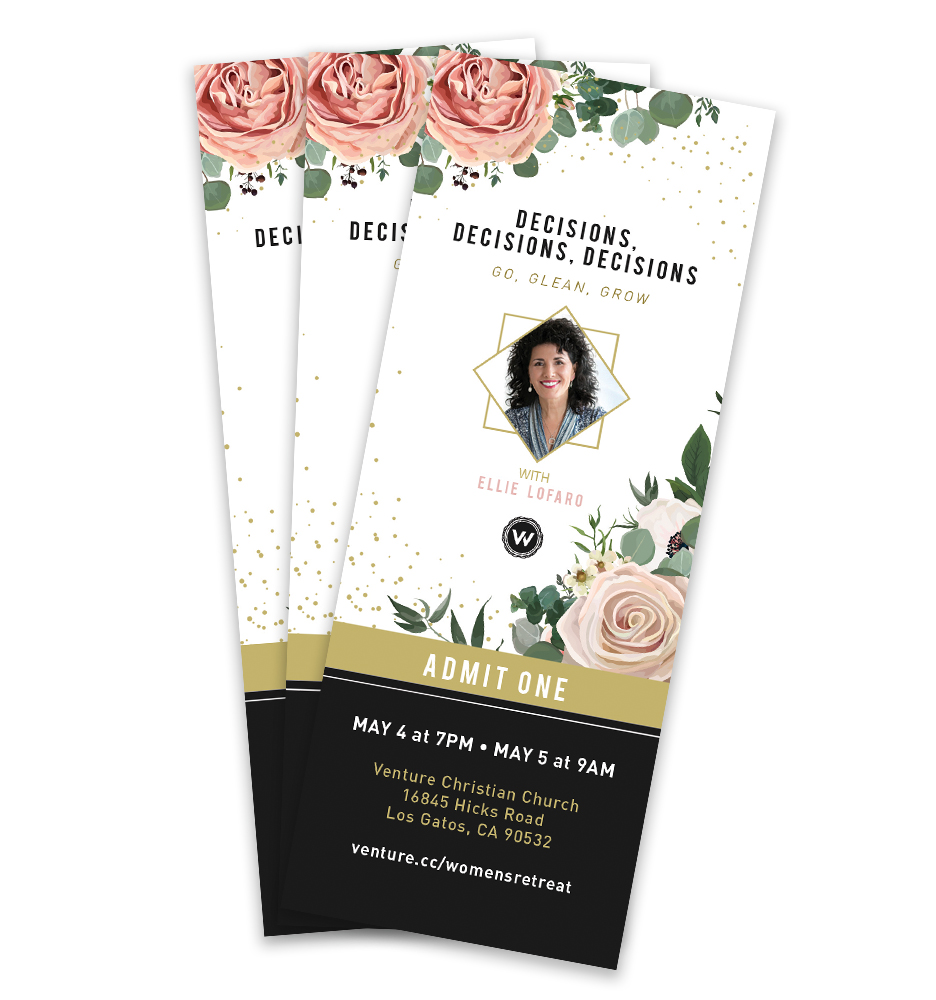 Venture Women's Retreat Tickets - Erica Zoller Creative