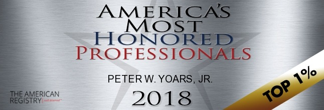 Top 1 Percent Attorney 2018