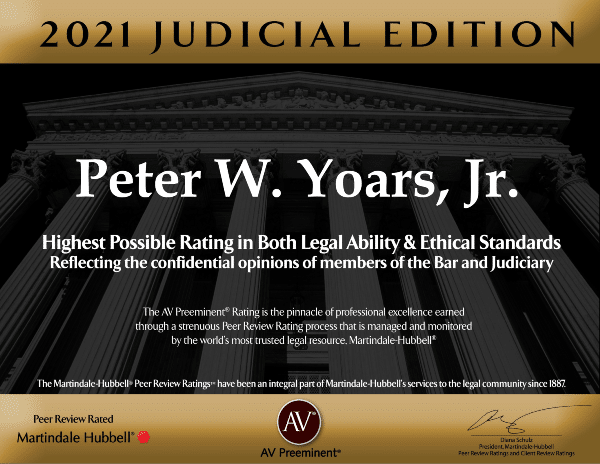 2021 judicial addition of Martindale Hubbell